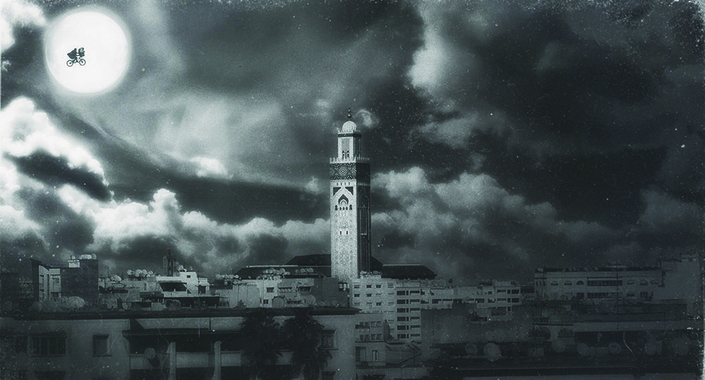 Merji - Day 54 - Série Diary of the Bled - Casablanca - Lcc Program - Photographie - Photography - Art - Maroc - Morocco - Mosquée - Hassan II - E.T.