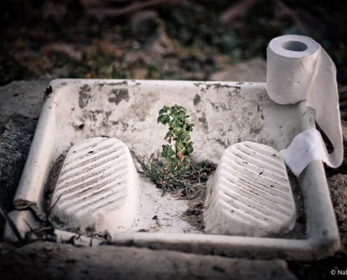 Nabil Ghandi - Recycled Inspiration - Photographie - Photography - Art - Nature - Toilettes