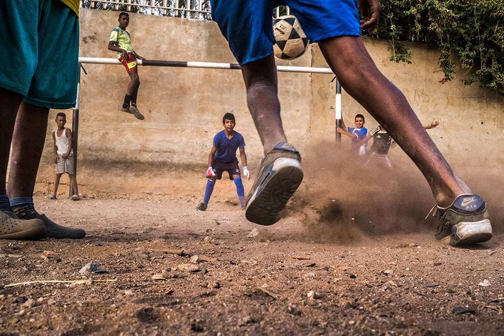 Yassine Alaoui - Wlad Karyan Massoudi - Photographie - Photography - Art - Enfants - Jeu - Football